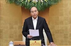 政府总理阮春福:有效展开灾后重建工作