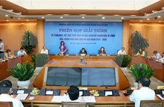 河内市人民议会第十八次会议对多项经济社会内容作出决定