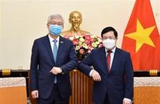 韩副外长李泰浩:越南是韩国的核心伙伴