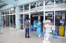 新冠肺炎疫情:越南新增4例境外输入新冠肺炎确诊病例