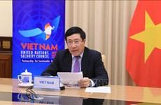 政府副总理兼外交部部长范平明出席联合国安理会公开辩论会