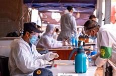 新冠肺炎疫情:老挝对琅南塔省的磨丁经济特区进行封锁