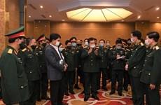 越南国防部领导对ADMM、ADMM+及相关会议的筹备工作进行检查