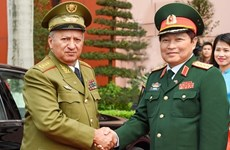 防务合作是越古关系的重要支柱之一