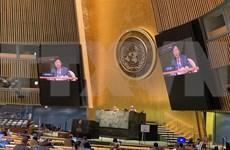 越南防疫成就促使各国支持由越南提出的决议