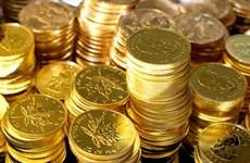 9日上午越南国内黄金价格每两5500万越盾