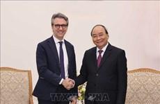 政府总理阮春福会见新西兰驻越大使和欧盟驻越代表团团长