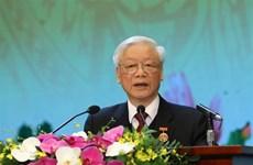 越共中央总书记阮富仲:竞赛运动要踏踏实实、贴近实际、避免形式主义
