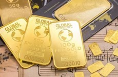 越南国内市场黄金价格高于国际每两近400万越盾