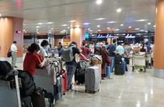 新冠肺炎疫情:在缅甸的340多名越南公民被安全接回国