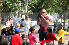 河内市接待游客人数增加