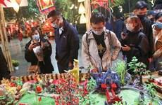 河内市当代生活中民间文化节在还剑湖步行街举行