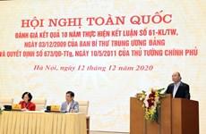 越南政府总理阮春福:打造一支把握科学技术和数字经济的新一代农民队伍