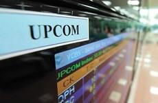 两新股在UPCoM挂牌上市
