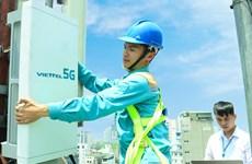 越南军队电信工业集团在首都河内启动5G试商用