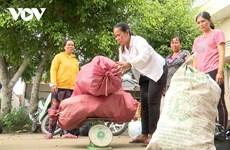 朔庄省妇女开展《将垃圾转化成金钱》模式