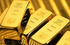 16日越南国内市场黄金价格每两上涨10万越盾