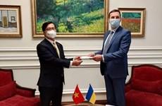 乌克兰高度评价与越南友好合作关系