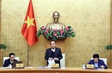 阮春福主持召开政府常务会议 讨论2021年第1号决议草案