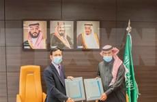 越通社与沙特通讯社签署信息交换合作备忘录
