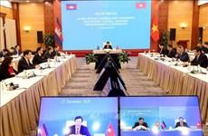 越柬经济、文化和科技联合委员会第18次会议以视频形式举行