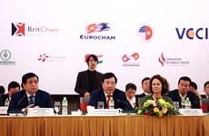 越南政府副总理范平明出席2020年越南企业论坛