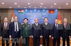 印越伙伴关系为维护地区和平稳定做出贡献