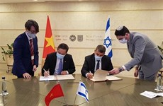 越南与以色列增进航空领域的合作