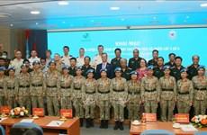 越南3号二级野战医院进入最后一次训练