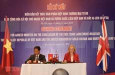 UKVFTA对越南和英国具有巨大的切实意义