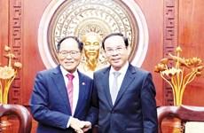 胡志明市与韩国加强合作促进数字化转型
