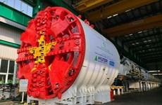 呠–河内火车站线的隧道掘进机完成安装工作