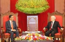 越南党和国家领导人向印尼领导人致贺信 庆祝两国建交65周年