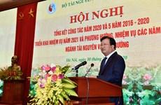 郑廷勇副总理:将自然资源与环境领域的挑战变成机遇 实现可持续发展目标