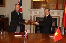 《越南与英国自由贸易协定》为越南的出口产品打造新平台