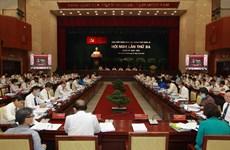 越共胡志明市第十一届委员会召开第三次会议