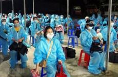 新冠肺炎疫情:将在欧洲、非洲和南美洲的近280名越南公民接回国
