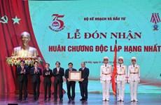 越南政府总理阮春福出席计划与投资部成立75周年纪念典礼
