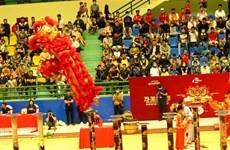 2020年顺化麒麟舞大赛吸引33支麒麟舞队参加
