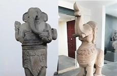 岘港占族雕刻博物馆新增2个国家级宝物