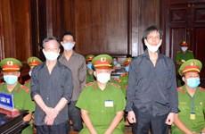 胡志明市人民法院开庭审理范志勇和其同案犯