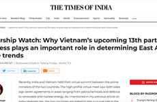 《印度时报》:越南已取得令人印象深刻的成就