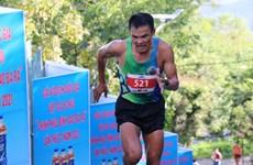 1400名运动员参加越南平福省巴拉山越野登山公开赛