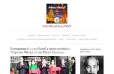 委内瑞拉-越南友好协会信息门户网站正式上线运行