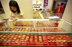 今日上午越南国内市场黄金价格大幅下跌