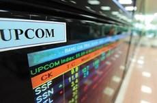 UPCoM上的成交额增长200% 境外投资者净买入1000亿越盾