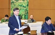 越南国会常委会第五十二次会议落下帷幕