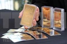 12日上午越南国内市场黄金价格每俩下降10万越盾