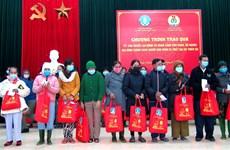 农业与农村发展部部长阮春强看望慰问受灾害影响的民众
