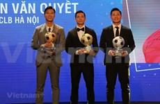 阮文决和黄茹获得2020年越南金球奖